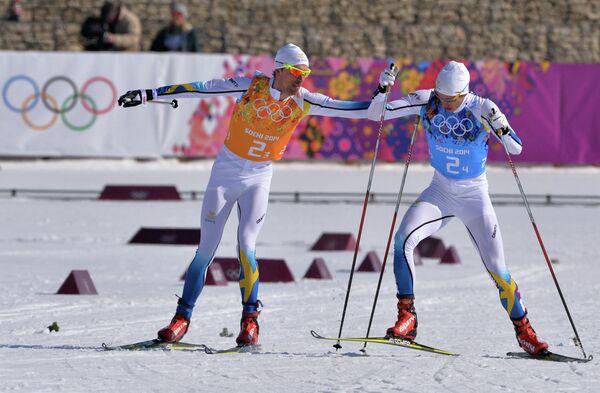 Юхан Ольссон и Маркус Хельнер (слева направо)