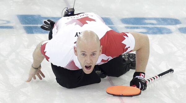 Игрок мужской сборной Канады по керлингу
