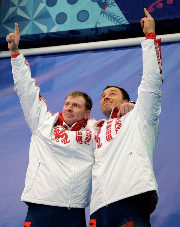 Александр Зубков и Алексей Воевода
