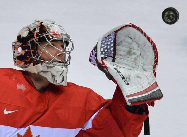Вратарь канадской сборной Кэри Прайс
