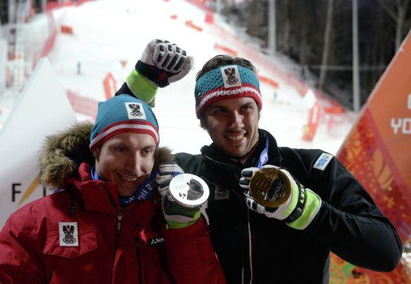 Марсель Хиршер и Марио Матт (слева направо)