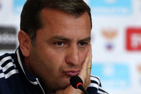 Главный тренер сборной Армении по футболу Вардан Минасян
