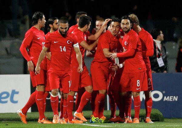 Футболисты Турции