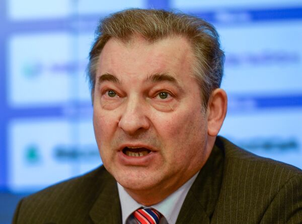 Президент Федерации хоккея России Владислав Третьяк