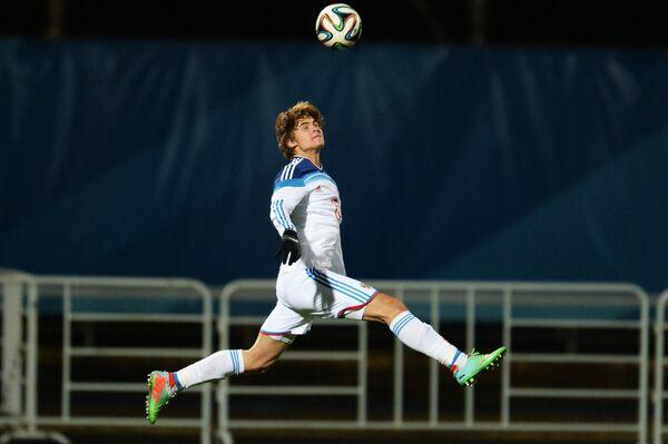 Футболист юношеской сборной России (до 17 лет) Михаил Могулкин