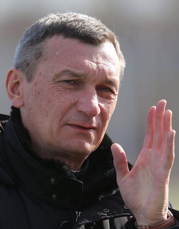 Руководитель департамента судейства и инспектирования Российского футбольного союза (РФС) Валентин Иванов