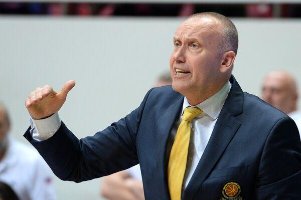 Главный тренер Химок Римас Куртинайтис