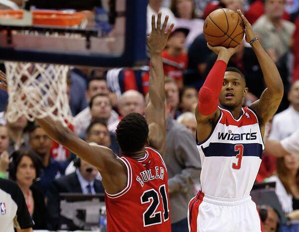 Игровой момент матча Вашингтон - Чикаго