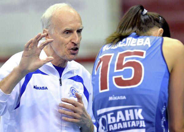 Главный тренер Динамо Леонид Зайко