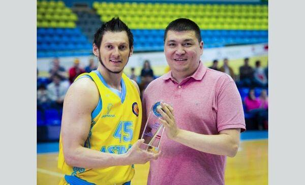 Защитник Астаны Янис Блумс назван лучшим латвийским игроком Единой лиги ВТБ