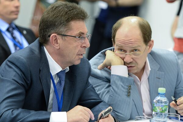 Александр Кравцов (слева) и Владимир Малин