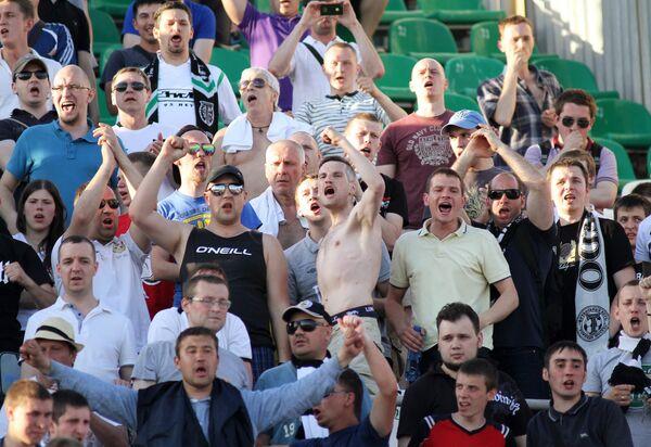 Болельщики ФК Торпедо