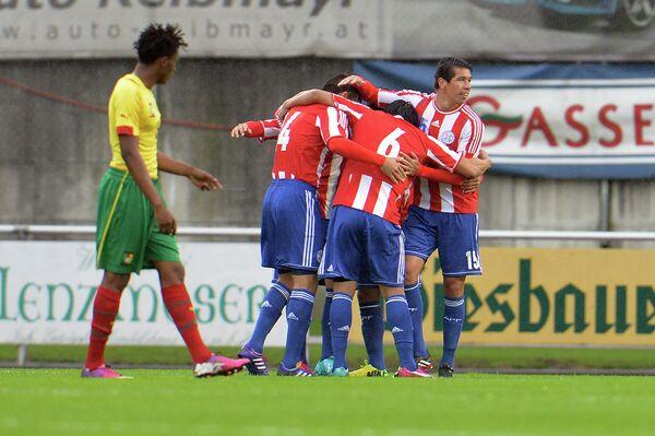 Футболисты сборной Парагвая нанесли поражение команде Камеруна