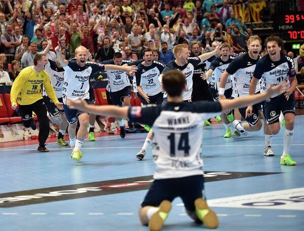 Немецкий гандбольный клуб Фленсбург впервые выиграл Лигу чемпионов