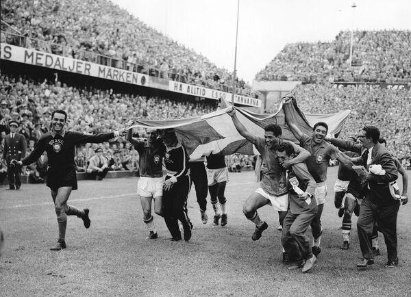 Футболисты сборной Бразилии, 1958 год