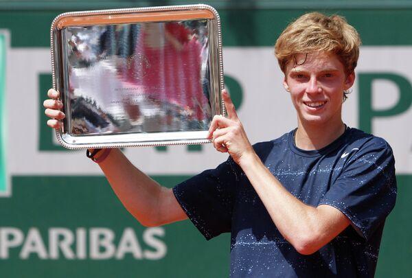 Андрей Рублев стал первым российским победителем юниорского Ролан Гаррос