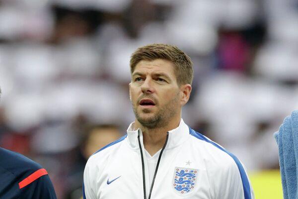 Капитан сборной Англии по футболу Стивен Джеррард