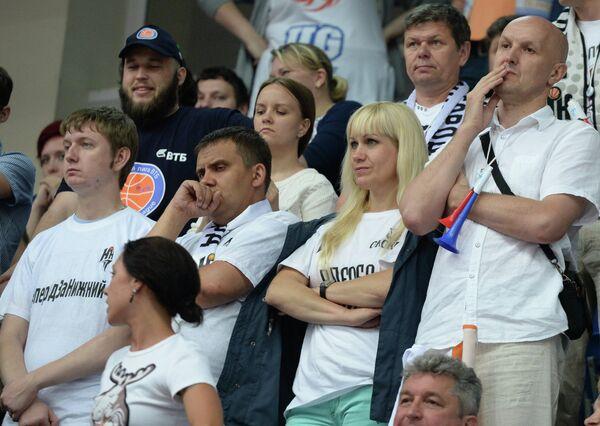 Болельщики БК Нижний Новгород
