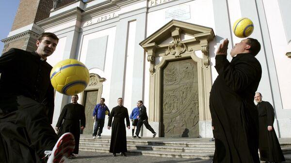 Футбол Ватикан.