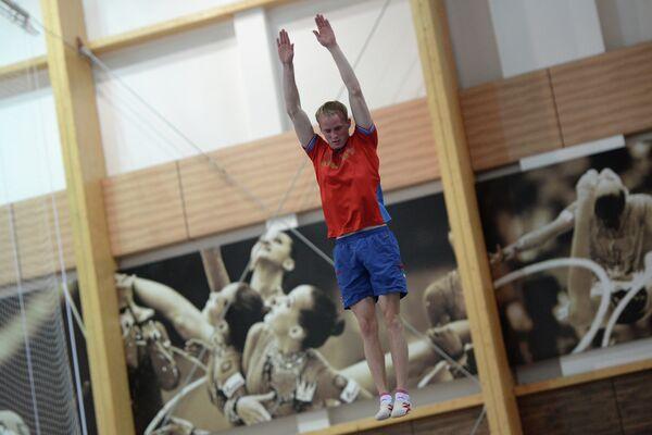Фристайл. Тренировка сборной России по лыжной акробатике