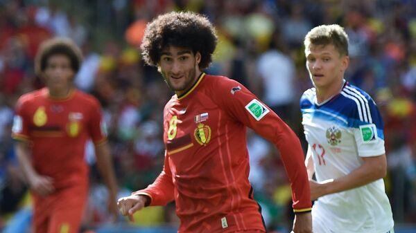 Футбол. Чемпионат мира - 2014. Матч Бельгия - Россия
