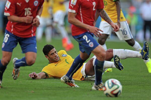 Нападающий сборной Бразилии Халк