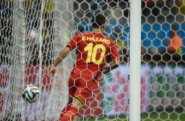 На фото: полузащитник сборной Бельгии Эден Азар.