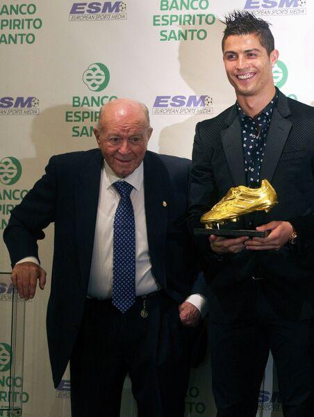 Альфредо Ди Стефано и Криштиану Роналду (слева направо)