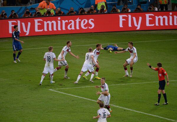 Футбол. Чемпионат мира - 2014. Финальный матч. Германия - Аргентина