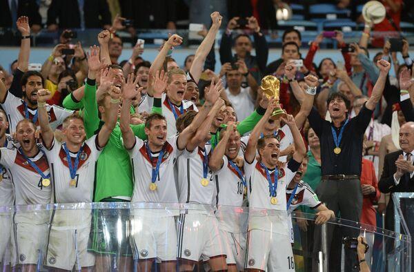 Сборная Германии - чемпионы мира.