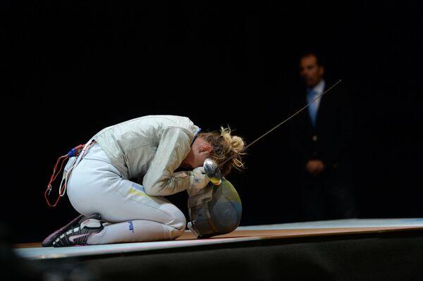 Украинская спортсменка Ольга Харлан