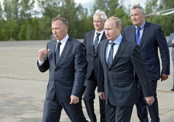 Рабочая поездка В.Путина в Самарскую область