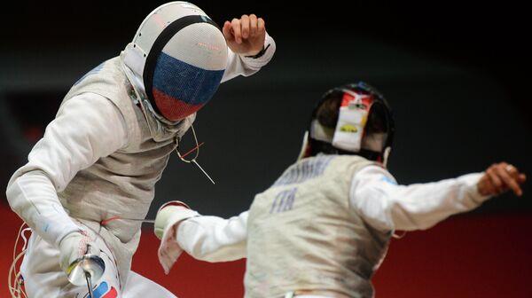 Россинин Алексей Черемисинов (слева) и Андреа Бальдини (Италия)