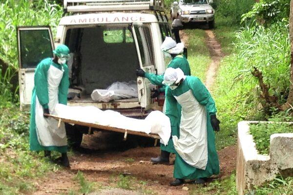 Погибшие от геморрагической лихорадки Эбола