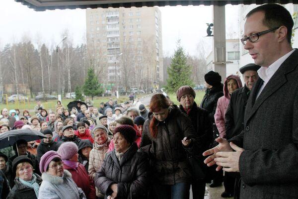 Исполняющий обязанности руководителя администрации Балашихи Роман Терюшков