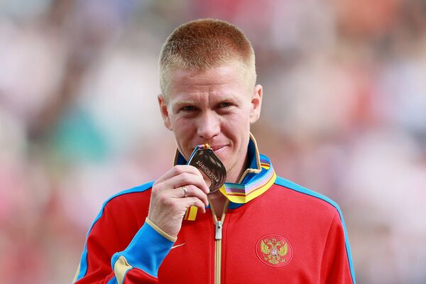 Российский спортсмен Алексей Реунков