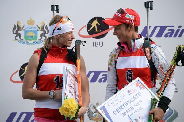 Кристина Палка и Тея Грегорин (слева направо)
