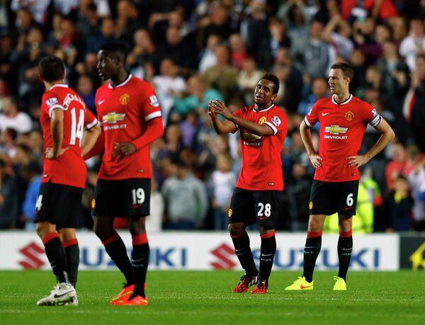 Футболисты Манчестер Юнайтед