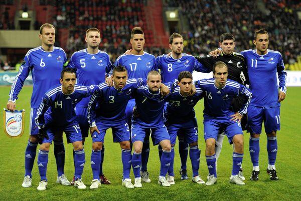 Футбол. Отборочный турнир ЕВРО-2012. Матч Россия - Андорра