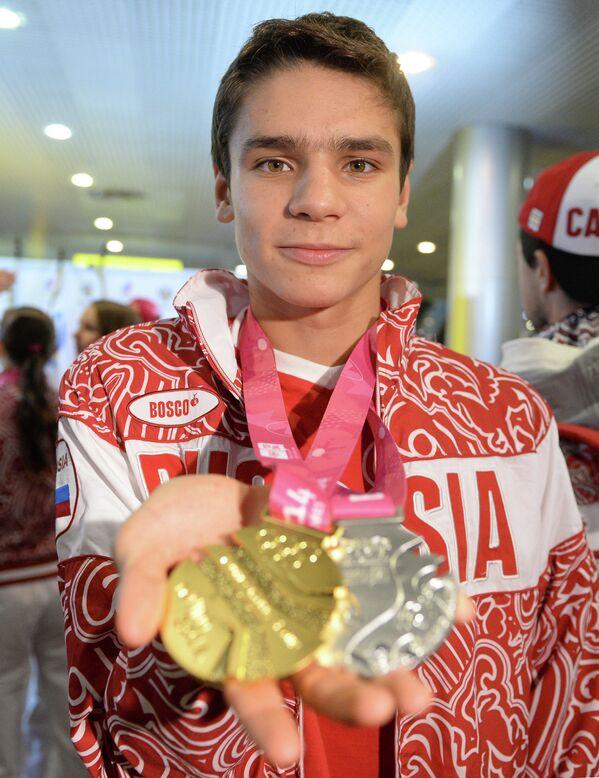 Олимпийский чемпион Евгений Рысов