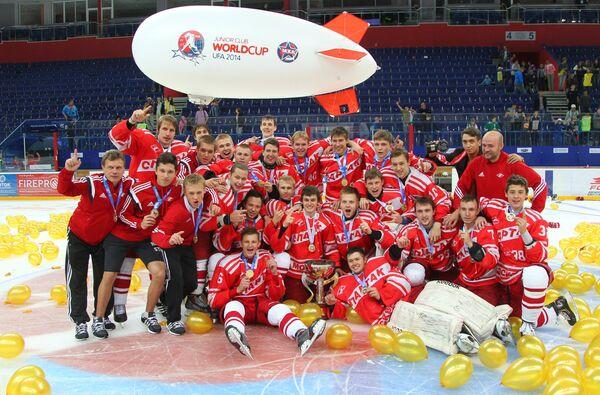 Хоккей. Кубок мира среди молодежных команд. Финальный матч