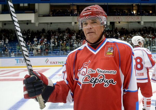 Президент Континентальной хоккейной лиги Александр Медведев