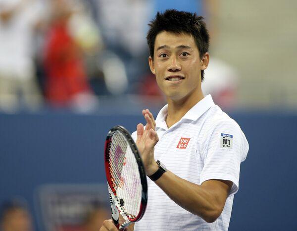 Кэй Нисикори на US Open