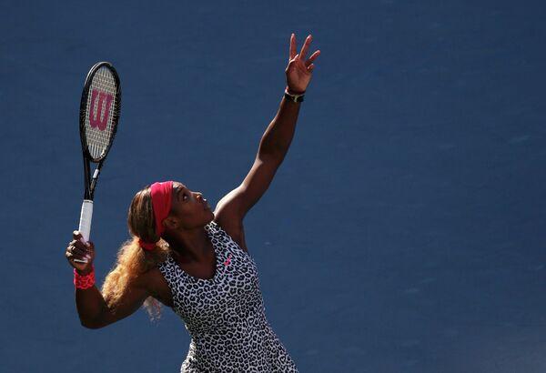Серена Уильямс в финальном матче US Open