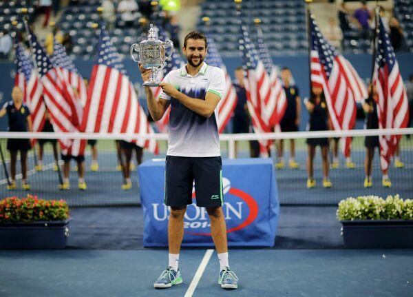Победитель US Open-2014 Марин Чилич