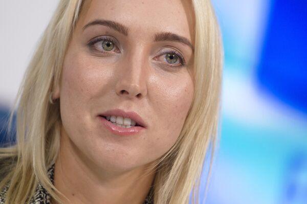 Теннисистка Елена Веснина