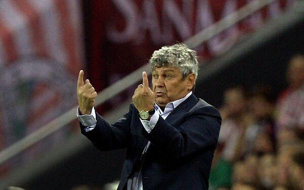 Главный тренер Шахтера Мирча Луческу