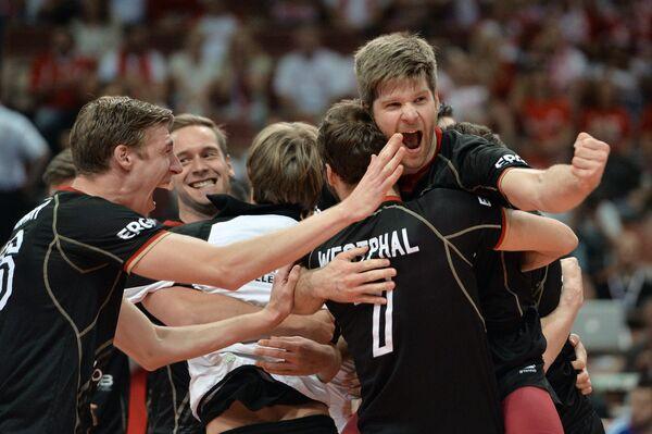 Волейболисты сборной Германии