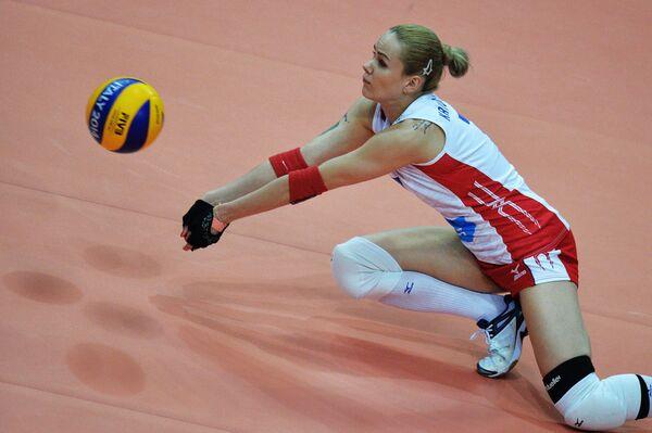 Либеро сборной России Светлана Крючкова
