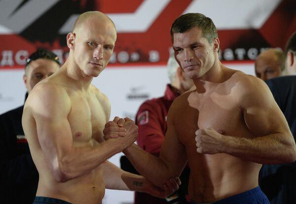 Кшиштоф Влодарчик (слева) и Георгий Дрозд